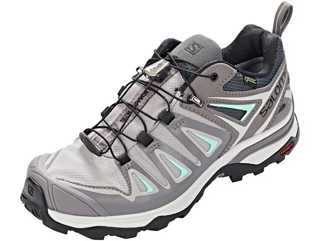 Salomon W's X Ultra 3 GTX Shoes Magnet/Shark/Beach Glass